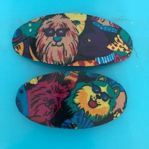 Dogs Hair Clip Set of 2